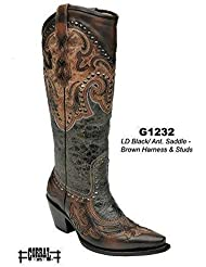 Corral Womens Harness And Studs Western Boots