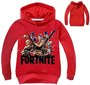 Fortine Children Sweatshirt Long Sleeve Blouse Top Windproof Loose Fitting Cotton Boy Girl Clothes