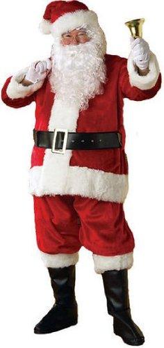 [Premier Santa Suit Adult Costume - Large] (Premiere Santa Suit)