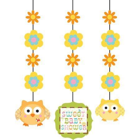 3-Piece Hanging Decorations, Happi Tree Sweet Baby]()