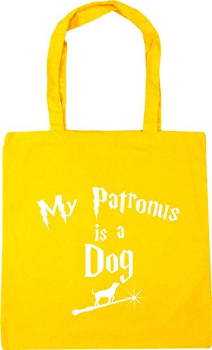 x38cm litres Dog Gym My 42cm A 10 HippoWarehouse Bag Tote Yellow Patronus Beach Shopping Is qOwAZPnI