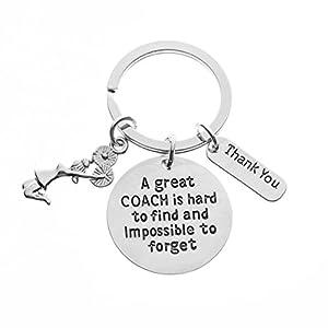 Cheer Coach Gift- Cheerleading Coach Keychain, Cheer Coach Jewelry – Perfect Gift for Cheer Coaches