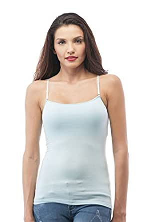 Hollywood Star Fashion Cami Camisole Built In Shelf Bra