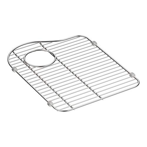 (Kohler 5133-ST Hartland Stainless Steel Sink Rack for Left-Hand Bowl)