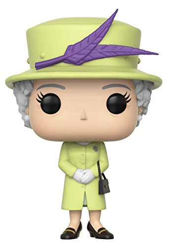 Funko Pop Royals Queen Elizabeth II Royal Family Estatua, Multicolor, 35723