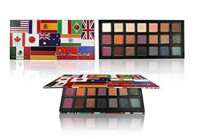 Around The World 21 Color Eyeshadow Palette