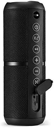 Caixa de Som Pulse Portátil Wave 2 Bluetooth com Microfone Preto - SP355