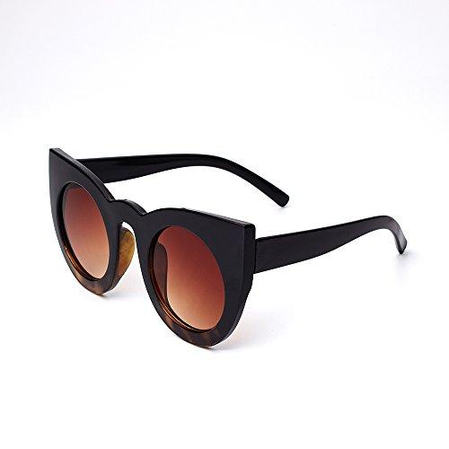 estilo TL redondo Sunglasses C5 verano femenina Señor gato la BJ5148 para de de el gafas sol ojo UV400 de C8 de mujer cosecha Gafas de sombras de BJ5148 RAxqrd1R