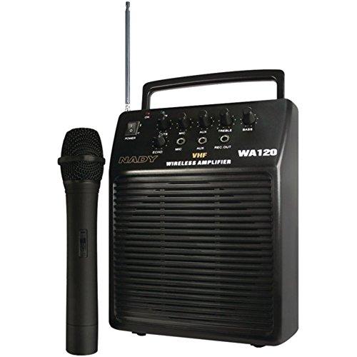 Nady WA120HTA Portable VHF Wireless PA System W/Cardioid Dynamic Handheld Mic Consumer Electronics
