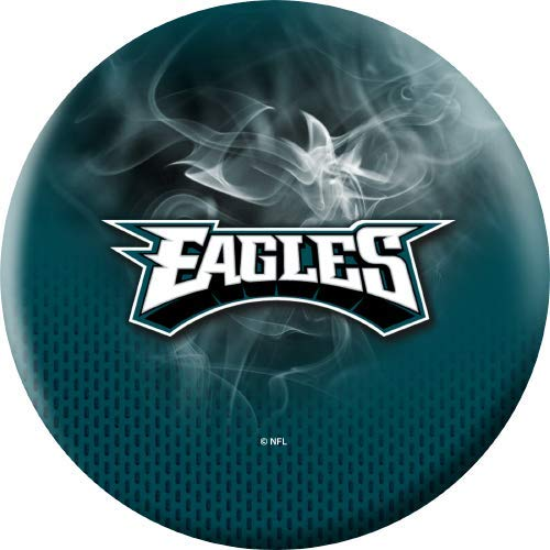 NFL-Philadelphia-Eagles-On-Fire-Undrilled-Bowling-Ball