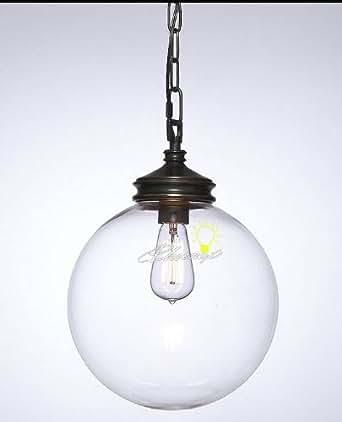 Calhoun Glass Pendant Lighting Amazonca Electronics
