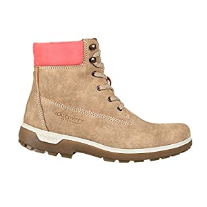 Discovery Expedition Women's Adventure High Top Lace Up Hiking Boot Sand Size 10