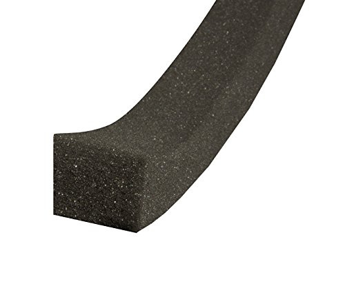 - WJ Dennis & Company 19 Open Cell Poly Foam Air Conditioner Seal, 1 1/4-Inch  x 1 1/4-Inch x 42-Inch, Black