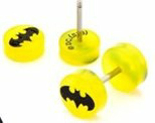 Earrings Ring Cheater Taper Batman product image
