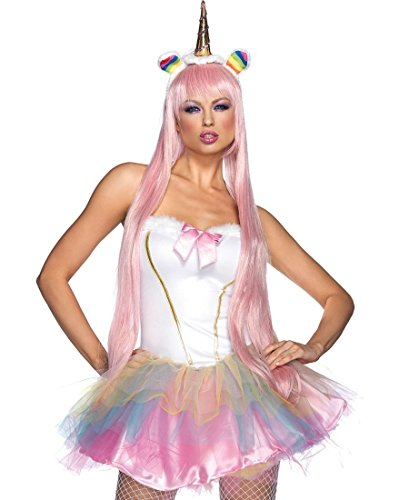 Womens Unicorn Fantasy Costumes (Adult Light-Up Fantasy Unicorn Costume)