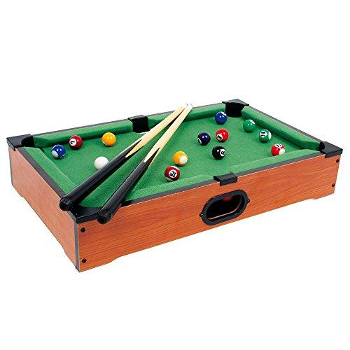 Legler Tischbillard Mimi aus Holz, kann auf jeder Tischplatte platziert werden, schult spielerisch die Hand-Augen-Koordination, für kleine und große Billard-Fans ab 5 Jahre
