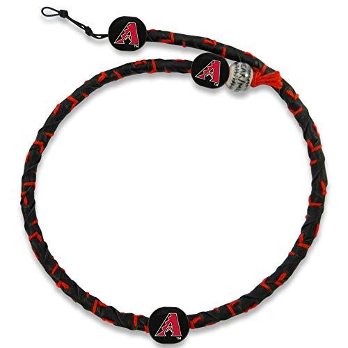 (GameWear Arizona Diamondbacks A Logo Black Leather/Red Thread Team Color Frozen Rope Baseball)