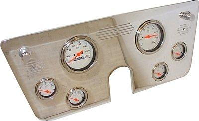1967-1972 (6) Gauge Chevy Truck Dash Panel Insert - No Gauges - Just Panel