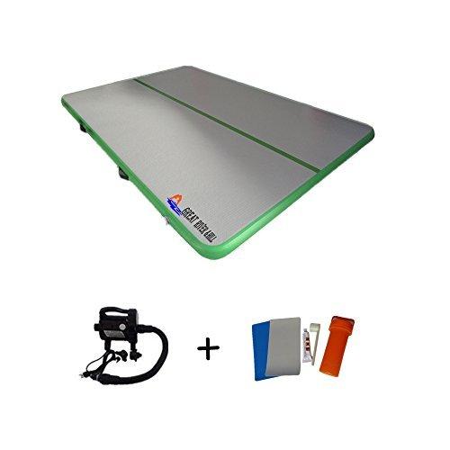 Water Board Inflatable Air Floor Mat Fitness Mat for Gymnastics 13 Feet