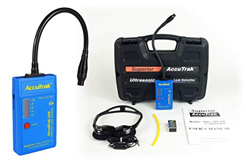 Superior AccuTrak VPE-GN Gooseneck Ultrasonic Leak Detector Standard Kit