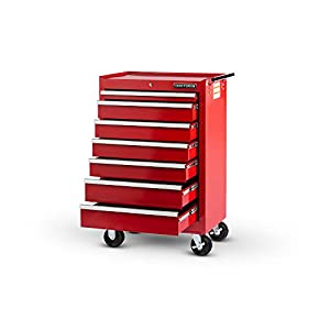 Craftsman 27 in. 7-Drawer STD DUTY Roller Cabinet in Red