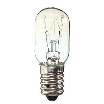 glow bombilla E14 Bombilla Ses 15W 25W Refrigerador Nevera ...