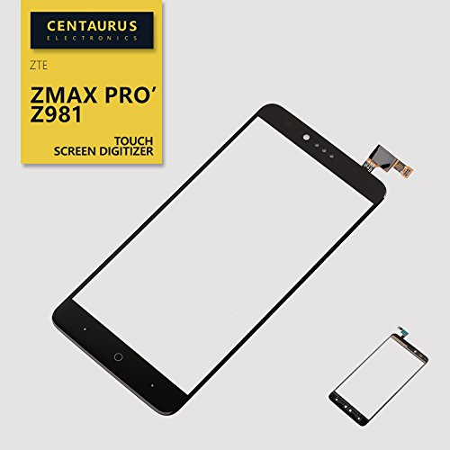 Replacement for ZTE Zmax Pro Z981 MetroPCS 6.0 Glass Touch Screen Digitizer (!No includ LCD,no Whole Screen!) Black USA