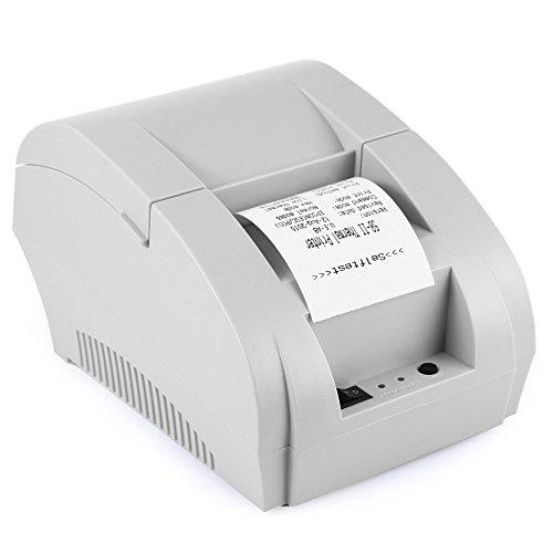 ZJ 5890K Mini 58mm POS Receipt Thermal Printer with USB Port- - 1