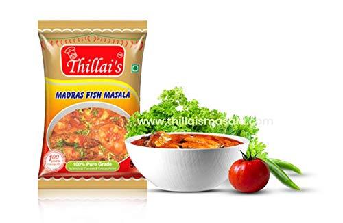Thillais Masala Fish Curry Masala Powder (Madras Fish Masala) 50 Gm 100% Natural Spices ()