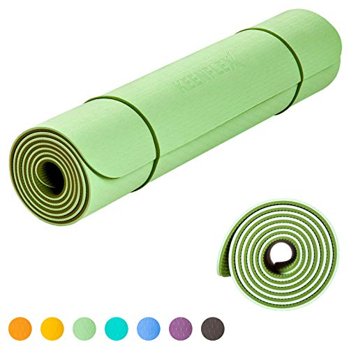 KeenFlex Yoga Mat Extremely Comfortable Non Slip Extra Long 6mm Thick SGS...