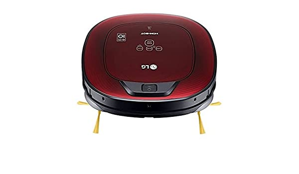 Robot Aspirador LG VSR8600RR Serie 8 Hombot Turbo A 0,6 L 60 dB 58W Rojo: Amazon.es: Hogar