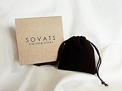 Sovats Evil Eye Lucky Jewelry Protection Ring For Women Set With Black Cubic Zirconia 925 Sterling Silver Rhodium Plated - Simple, Stylish &Trendy Nickel Free Ring