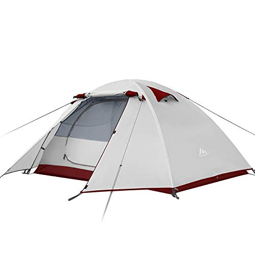 Forceatt Camping Tent 2/3/4 Person, Professional Waterproof & Windproof Lightweight Backpacking Tent Suitable for…