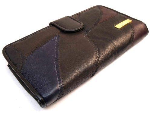Läder Varuhus Kvinna Lyx Mjukt Läder Handväska 4635 Multi