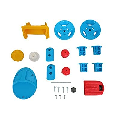 Fisher-Price Nickelodeon Paw Patrol Lights & Sounds Trike - Replacement Parts Bag DWR65 : Sports & Outdoors
