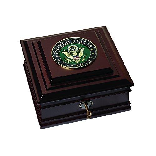 Allied Frame US Army Medallion Desktop Box