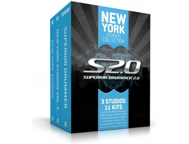 Toontrack Superior Drummer 2.0 New York Studios Collection (Boxed) by Toontrack