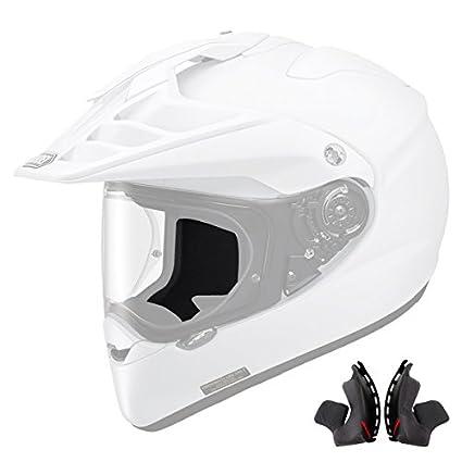Shoei Hornet X2 Cheek Pad Set 31mm Off-Road Motorcycle Helmet Accessories - Black/One Size 01-70564