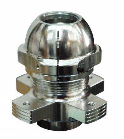 Durablue 20-1640 Anti-Fade Hub Disc & Posi Lock Nut Combo Honda Trx400Ex 99-08 & Trx400X 09-14 by DuraBlue