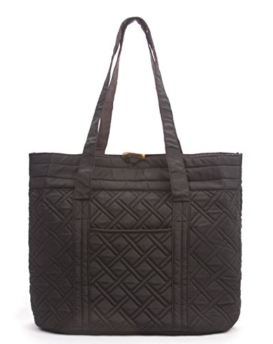 Quilted Large Handbag - 5