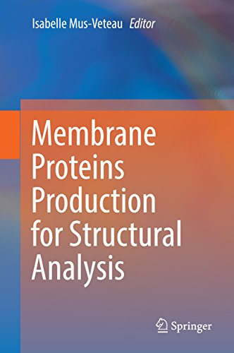 Membrane Proteins Production for Structural Analysis Pdf