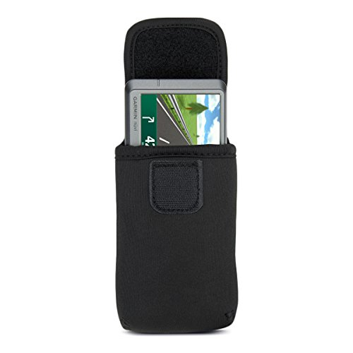 USA Gear Handheld GPS Case Holster for Garmin Approach G6 , eTrex 20x , eTrex 30x , Oregon 650 , Monterra Wi-Fi and More with Belt Loop , Carabiner Clip and Scratch-Resistant Neoprene by USA Gear