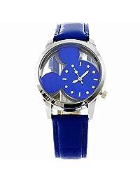 BLACKMAMUT Reloj para Mujer Análogo Modelo Mickey Caratula con partes  transparentes Zirconias incrustadas Incluye Estuche Blíster 589f9d141df7