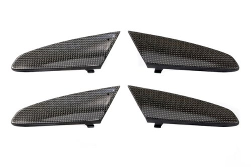 (MAcarbon Carbon Fiber Door Handle Inserts for The Porsche 958 Cayenne and 970 Panamera (Set of 4))