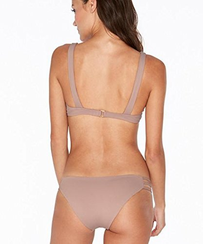 LSpace Women's LSolids Tab Side Hipster Bikini Bottom Dusty Pearl - Solids Pearl Hipster