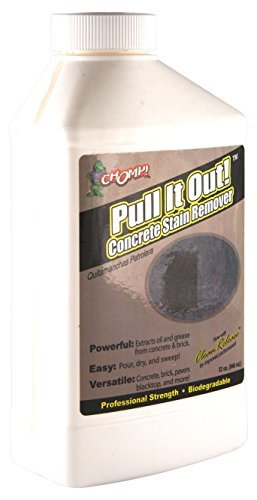 Concrete Stain Remover >> Amazon Com Chomp 52019 Pull It Out Concrete Oil Stain