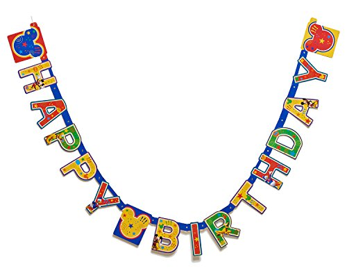Mickey Mouse Clubhouse Birthday Party Banner, Party