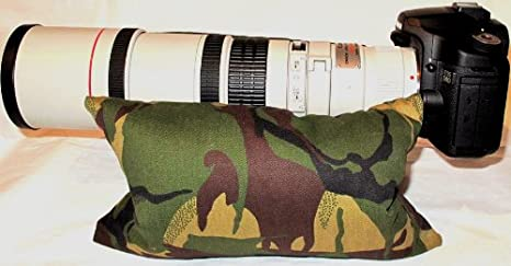 Admirable Maxsimafoto Professional Camera Bean Bag Twin Bags 262X162 Lens Support Bean Bags For Wildlife Photography Etc Also Designed For Use On A Short Links Chair Design For Home Short Linksinfo