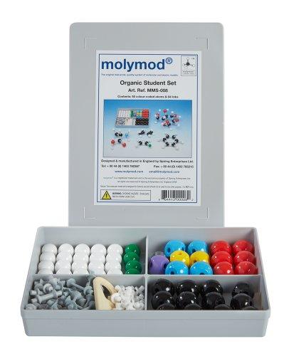 Molymod MMS-008 Organic Chemistry Molecular Model, Student Set (50 atom parts)