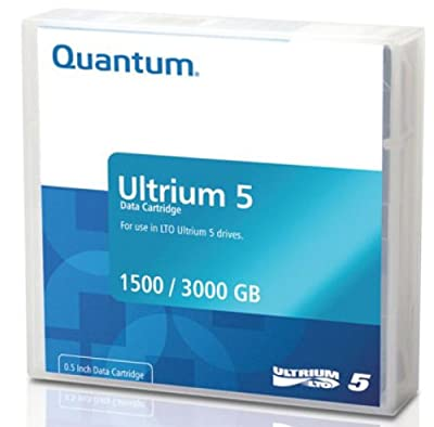 Quantum MR-L5MQN-20 Data Cartridge - LTO Ultrium - LTO-5 - 20 Pack from Quantum Media And Tapes